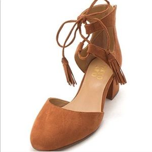 Franco Sarto Friction Sandals in Whiskey
